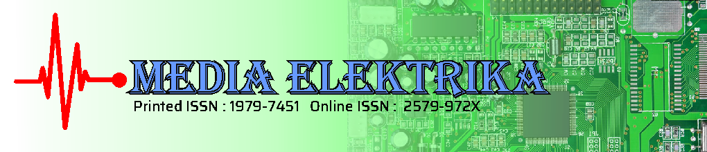Media Elektrika | Jurnal Teknik Elektro