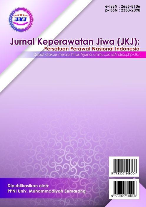 JKAJ | Jurnal Keperawatan Jiwa | ISSN : 2330-2090