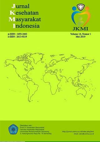 Jurnal Kesehatan Masyarakat Indonesia