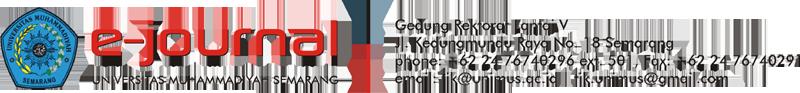 E-Journal Universitas Muhammadiyah Semarang